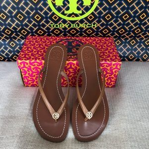 New Authentic Tory Burch Terra Thong Sandal
